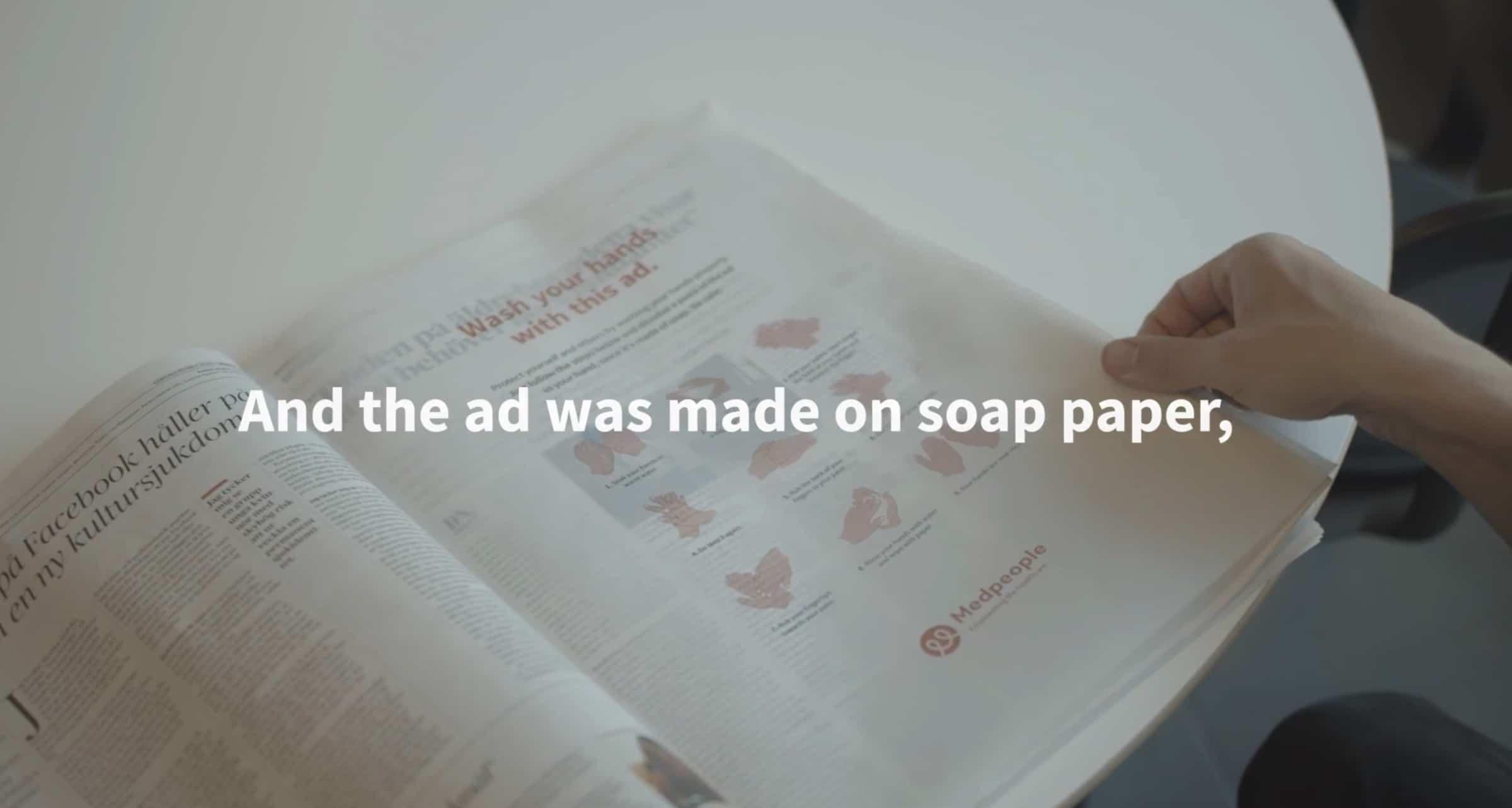 gazete sabun
