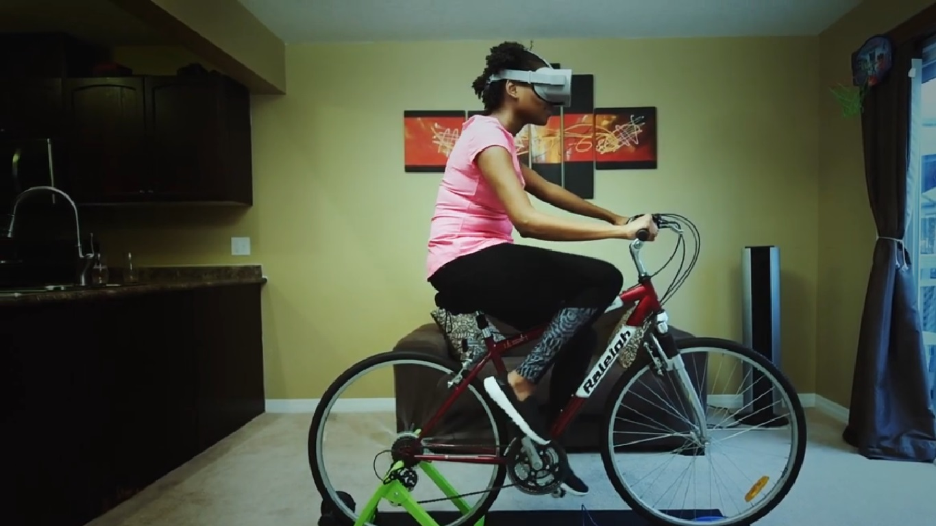 blync- bisiklet sanal gerçeklik